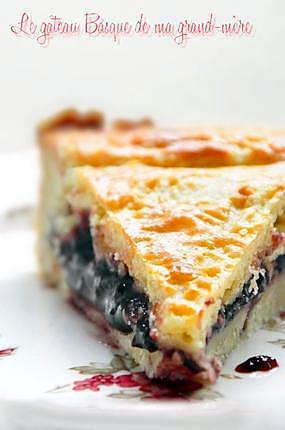 recette Le gâteau Basque de ma grand-mère