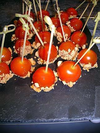 recette bonbon tomates et cacahuetes
