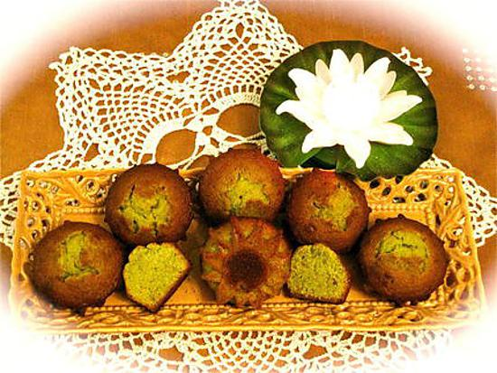 recette MUFFINS AU THE MATCHA