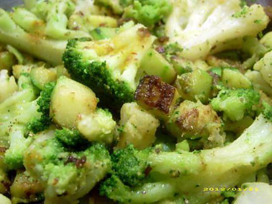 recette poelée de légumes à l'indienne