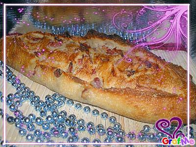 recette pain aux lardons