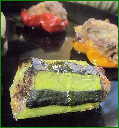 recette Légumes farcis (courgettes, navets, oignons, poivrons)