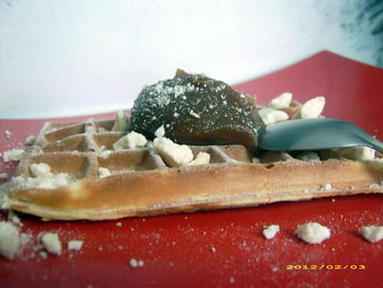 recette gaufre ardéchoise meringuée (chandeleur)