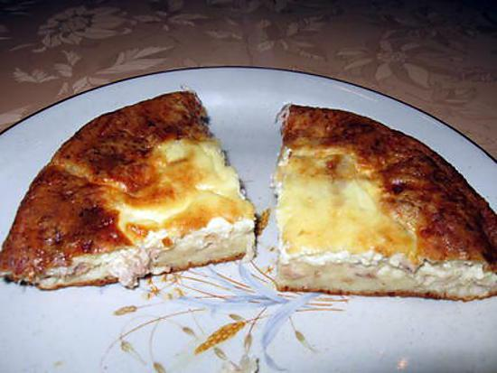 recette de quiche sans p te au thon. Black Bedroom Furniture Sets. Home Design Ideas