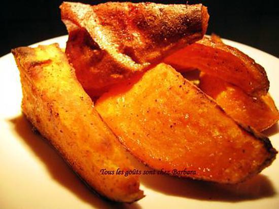 recette Patates douces au cari