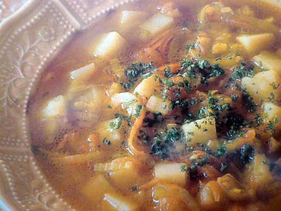 recette Soupe-Velouté aux poireaux et pommes de terre
