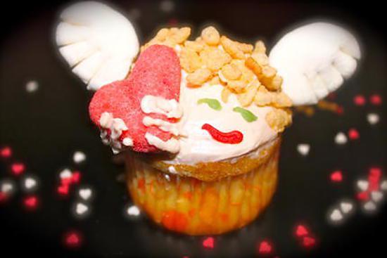 recette Cupcakes Cupidon (St Valentin)