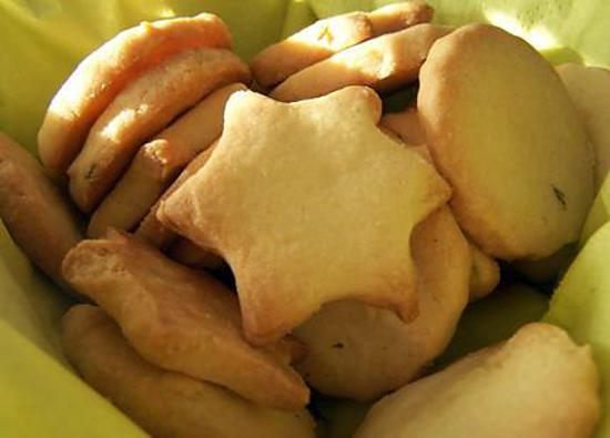 recette Sablés (citron ou miel et graine de sésame ou fleur d'orangé ou chocolat ou nature)