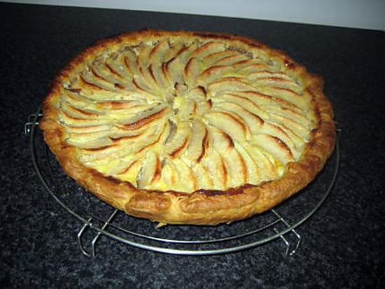Recette de tarte aux pommes facile - Dessin de tarte aux pommes ...