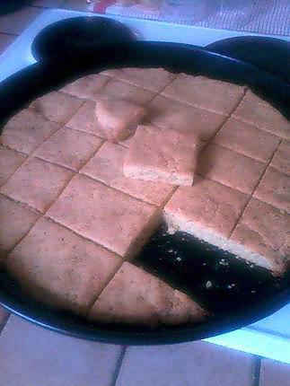 recette Pain semoule spécialité marocaine (se n'est pas exactement un pain)