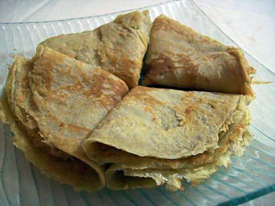 recette Crêpes aux flocons d'avoine de Patchouka