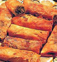 recette Bourek de viande haché