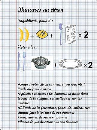 recette La cuisine des enfants