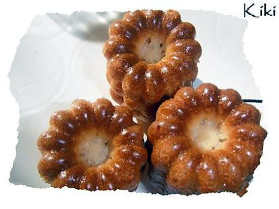 recette Petits gâteaux canneles à l'orange tout moelleux