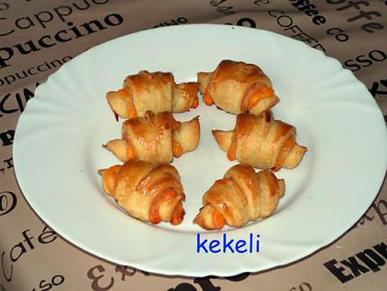Recette De Croissant Au Blanc De Poulet Et Mimolette