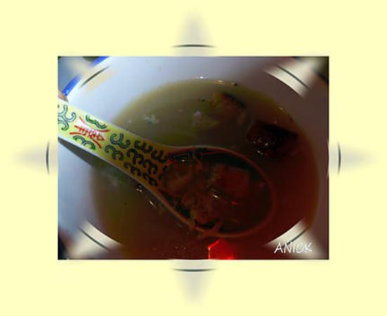 recette Soupe au thym