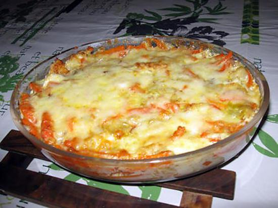 recette de gratin de poisson aux l gumes et au curry. Black Bedroom Furniture Sets. Home Design Ideas