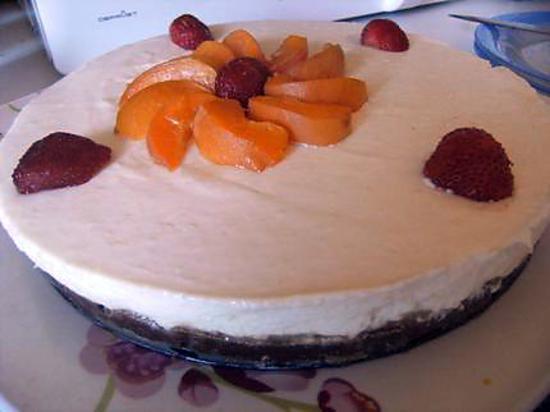 Recette de mon cheesecake d licieux a l 39 ananas sans cuisson - Recette cheesecake sans cuisson ...