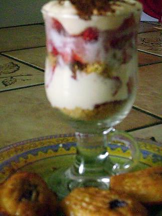 recette tiramitsou de fraises en verrines