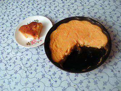 recette Gâteau mixte courge-semoule