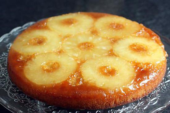 Recette gateau de semoule ananas