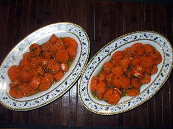 """recette """" Salade fraîche de carottes à la Marocaine """"..."""