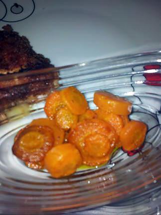 Recette de les carottes saut e a la po le - Cuisiner des carottes a la poele ...
