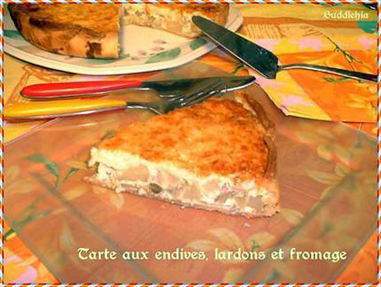 Recette De Tarte Aux Endives Lardons Et Fromage