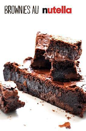recette Brownies au Nutella
