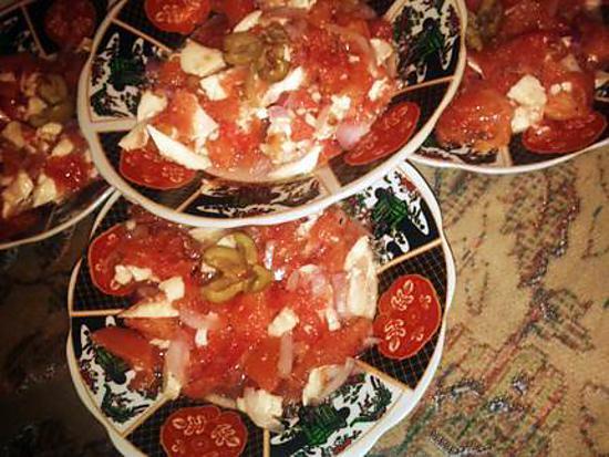 Recette de salade rapide et l g re for Entree rapide et legere