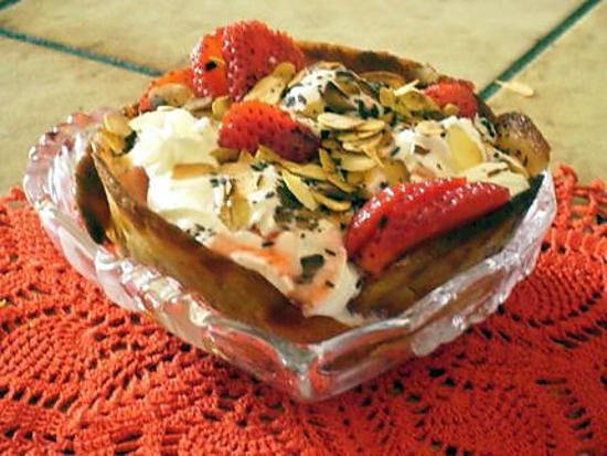recette tuiles aux fraises