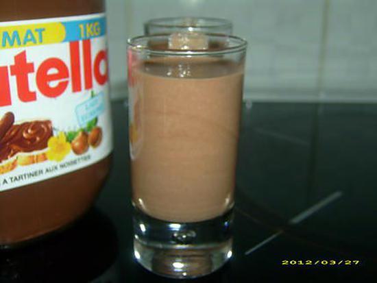 recette crème anglaise au nutella