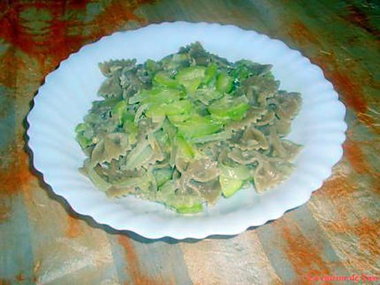 recette Sauce aux courgettes pour pâtes