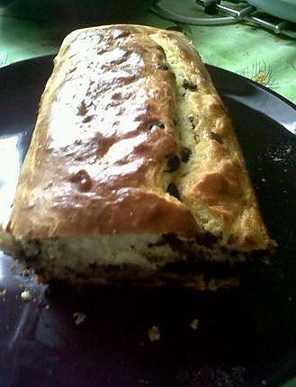 recette Gâteau yaourt et pépites chocolat