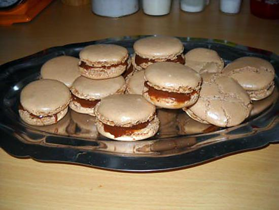 recette Macarons aux carambars