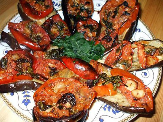 Recette de lamelles d 39 aubergines au four - Cuisiner des aubergines au four ...