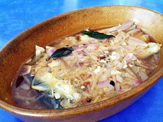 recette Sardines en Escabèche