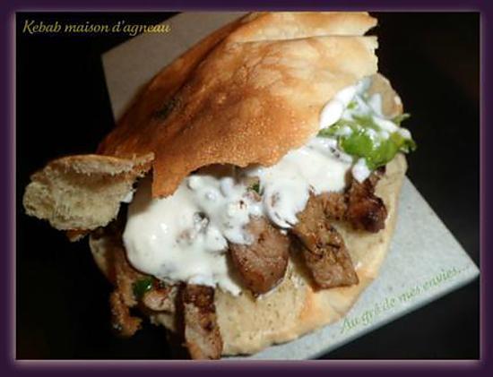 recette Kebab maison d\u0027agneau