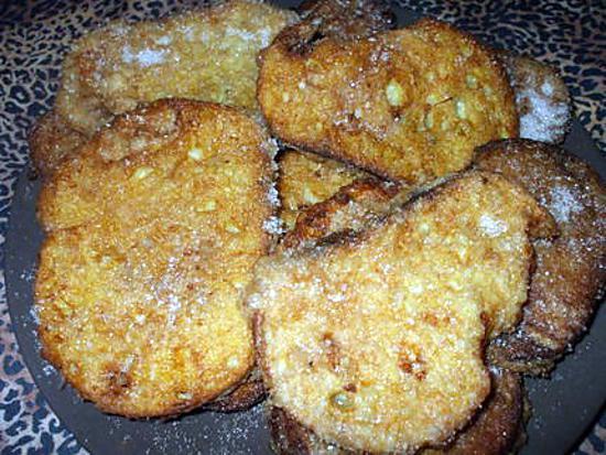 recette Torrijas de Pascuas....( Pain perdu ... Tradition de Pâques en Espagne...)
