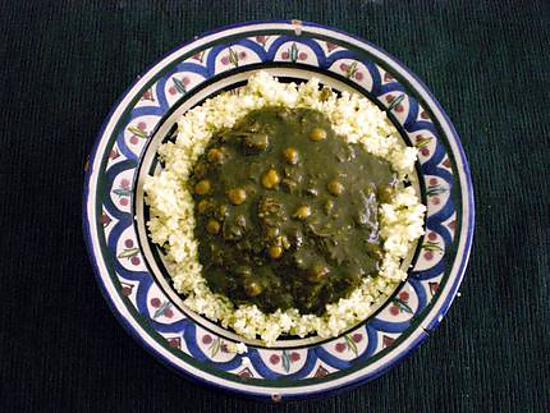 recette Meloukhia, M'loukhia, Moloukhia, Mloukhya.