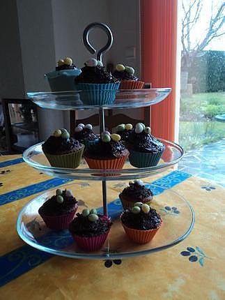 recette Cupcakes nids de pâques