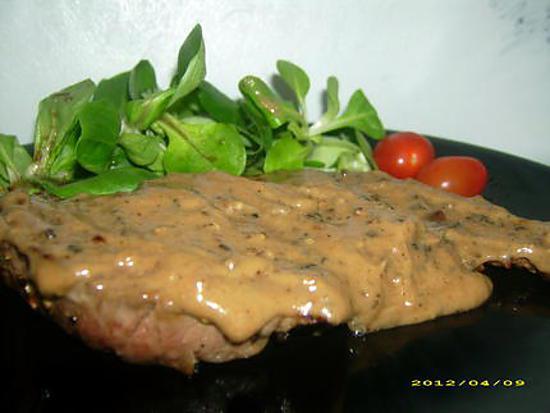 recette steack au poivre