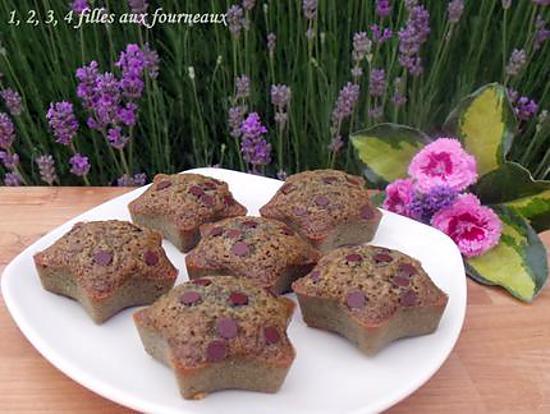 recette Financiers pistache / chocolat