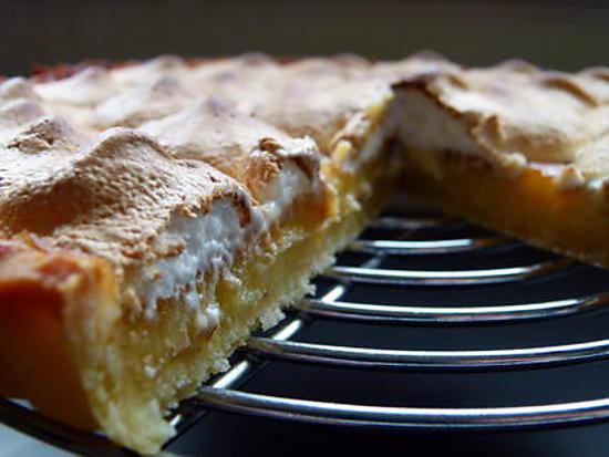 Recette de tarte citron meringu e par fee lili - Tarte citron meringuee recette ...