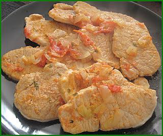 recette Escalopes de Porc à la Portugaise (comme des bifanas)