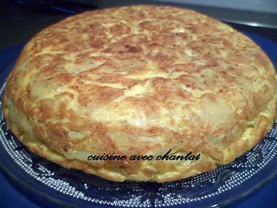 Recette de tortilla ou omelette espagnole - Comment faire des tortillas ...