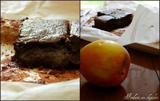 recette Fondant au chocolat ( sans beurre )