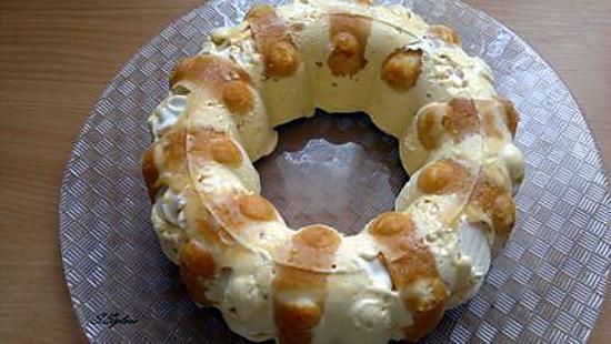 recette Vacherin express vanille/caramel