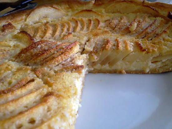 recette Tarte normande amandes et cannelle
