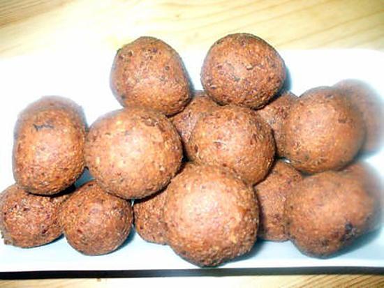 recette Falafels à ma façon....( Boulettes de pois-chiches...)